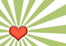 Grunge Liebes-Auszugs-Muster-Hintergrund Lizenzfreie Stockbilder