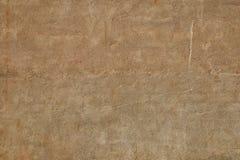 Grunge light beige plaster facade royalty free stock images
