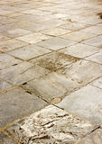 Grunge line street cement tile. Photo royalty free stock images