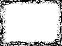 Grunge lines ramen Arkivbild