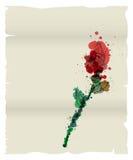 Grunge list miłosny Zdjęcie Royalty Free