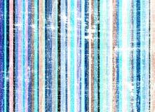 Grunge listra o azul do fundo Imagem de Stock