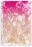 grunge listu miłości Zdjęcia Royalty Free