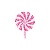 Grunge lollipop Royalty Free Stock Photography