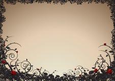 Grunge love background stock illustration