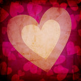 Grunge love background Stock Photo