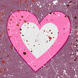 Grunge love background Royalty Free Stock Photography