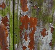 Grunge målade metalltextur eller bakgrund arkivbild