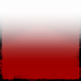 Grunge métallique en rouge Photos libres de droits