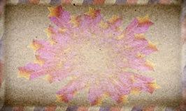 Grunge mörk stjärnaaffisch Arkivbild
