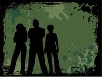 grunge młodości Obrazy Royalty Free