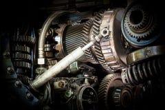 Grunge machine Stock Image