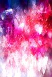 Grunge magique d'arc-en-ciel de papillons Photo stock