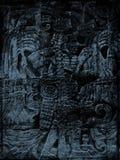 Grunge maia ilustração stock