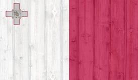 Grunge Malta Flag Stock Image