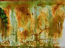 Grunge malte Metallbeschaffenheit oder -hintergrund Stockfotografie
