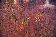 Grunge malte Metallbeschaffenheit oder -hintergrund Lizenzfreie Stockfotografie