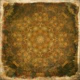 Grunge mandala background Stock Images