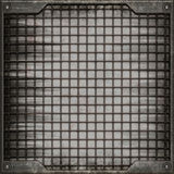 Grunge manhole cover (Seamless texture) Stock Image