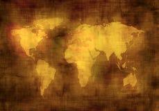 Grunge map Stock Image