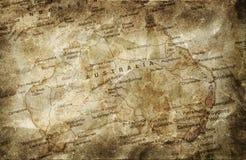 Grunge map background Stock Image