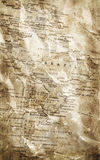 Grunge map background Royalty Free Stock Photo
