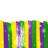 Grunge mardi gras background Royalty Free Stock Photo