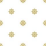 Grunge marine seamless pattern Stock Images
