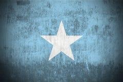 Grunge Markierungsfahne von Somalia Lizenzfreie Stockbilder