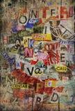 Grunge maserte Hintergrund Stockfoto