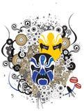 Grunge Masks Design Stock Image