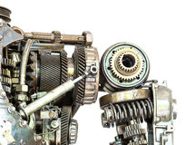 Grunge maszyna odizolowywająca Zdjęcie Royalty Free
