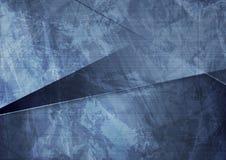 Grunge material dark blue corporate background Stock Photo