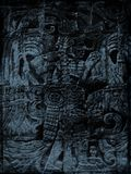 grunge mayan απεικόνιση αποθεμάτων