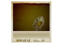 Grunge media player Royalty Free Stock Photography
