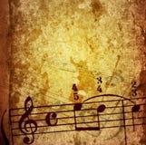Grunge Melodienbeschaffenheiten und -hintergründe Stockfoto