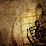 Grunge melody Stock Photo