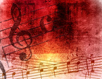 Grunge melody textures and backgrounds Royalty Free Stock Photo