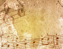 Grunge melody textures and backgrounds Royalty Free Stock Image