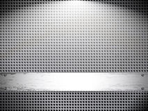 Grunge mesh metal background. Illustration for your design Stock Photography