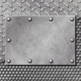 Grunge Metal Background Royalty Free Stock Photo