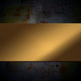 Grunge metal background Stock Image