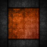 Grunge and metal background. Grunge background with a perforated metal border Royalty Free Stock Images