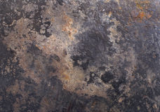 Grunge metal background. Rusty ages-old metal abstract background for design purpose Stock Photography