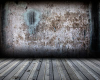 Grunge Metal Background Interior Stage Royalty Free Stock Photography