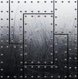Grunge metal background Stock Photo