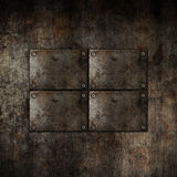 Grunge metal background Stock Photography