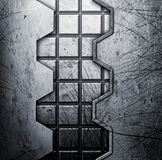Grunge metal background Stock Photos