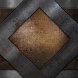 Grunge metal background Stock Image