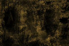 Grunge metal background, worn yellow steel texture Stock Images